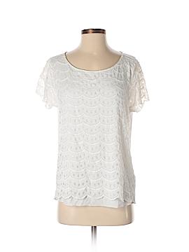 Cremieux Short Sleeve Top Size L