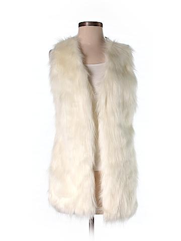 Liz Claiborne Faux Fur Vest Size S