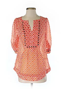 Pomelo 3/4 Sleeve Blouse Size S