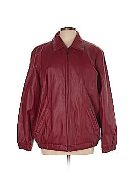 Preston & York Leather Jacket Size L