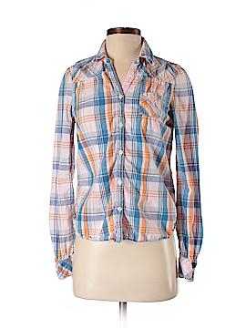 Hilfiger Denim Long Sleeve Button-Down Shirt Size S