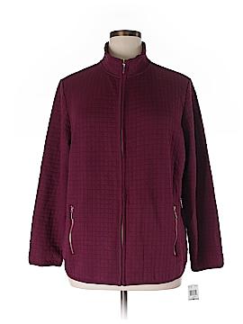 Karen Scott Sport Cardigan Size 1X (Plus)