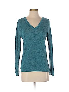 C & S Check & Stripe Pullover Sweater Size S