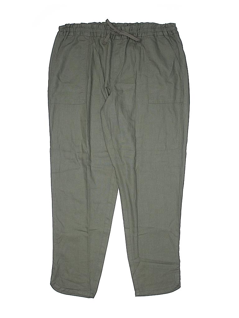 Faded Glory Women Linen Pants Size 12-14