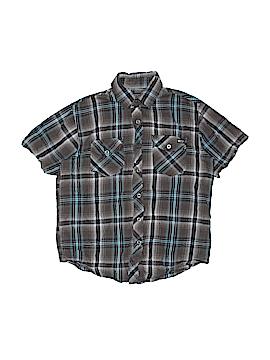 Point Zero Short Sleeve Button-Down Shirt Size M (Kids)