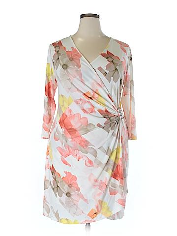 Calvin Klein Casual Dress Size 1X (Plus)
