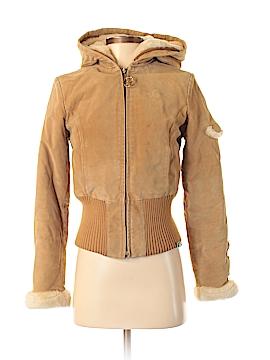 Baby Phat Leather Jacket Size S