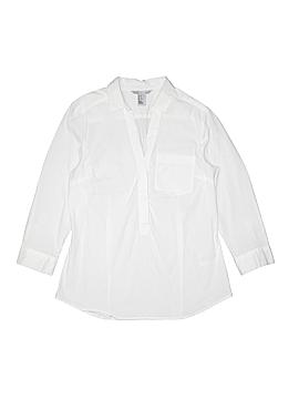H&M 3/4 Sleeve Button-Down Shirt Size 10