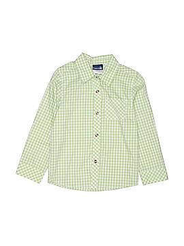 Rugged Bear Long Sleeve Button-Down Shirt Size 5