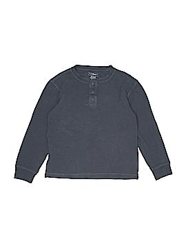 L.L.Bean Long Sleeve Henley Size 10 - 12