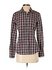Club Monaco Women Long Sleeve Button-Down Shirt Size S
