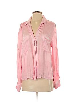 Bella Dahl Long Sleeve Button-Down Shirt Size S