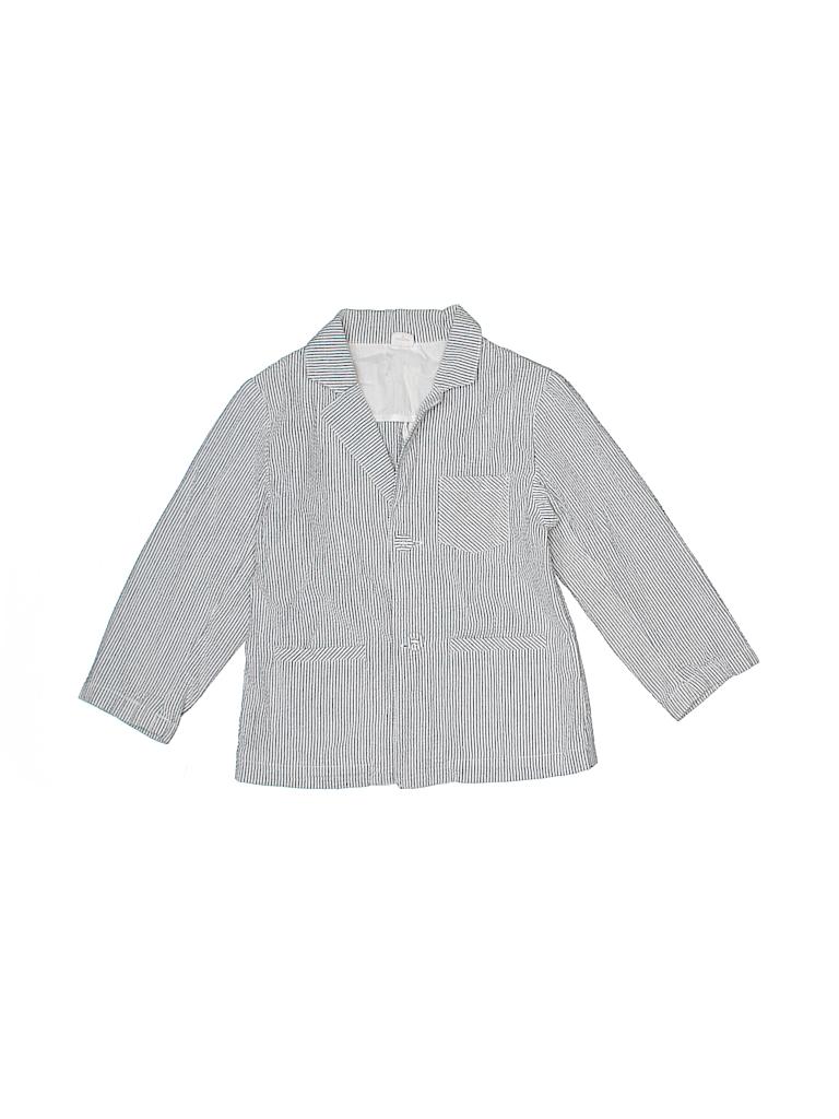 361ace2726fb Egg Baby 100% Cotton Stripes Light Blue Blazer Size 5T - 84% off ...
