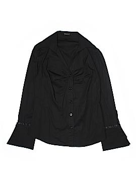 Patty Long Sleeve Button-Down Shirt Size L
