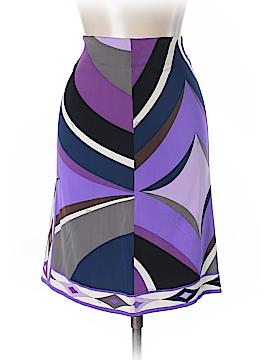 Emilio Pucci Silk Skirt Size 44 (IT)