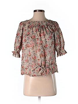 Comptoir des Cotonniers Short Sleeve Blouse Size 36 (FR)