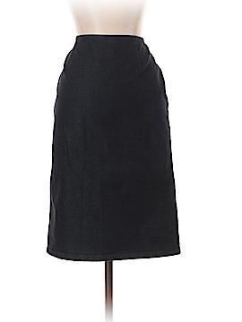 Lafayette 148 New York Denim Skirt Size 6