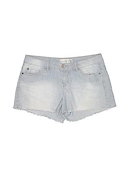Inked & Faded Denim Shorts Size 12