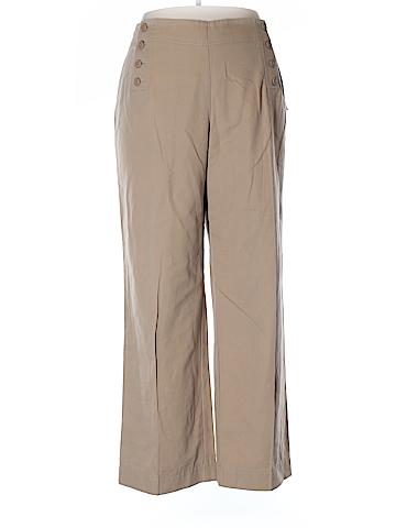 Larry Levine Khakis Size 18 (Plus)