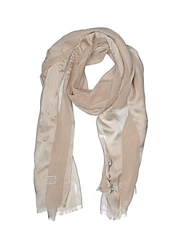 Oscar De La Renta Silk Scarf One Size