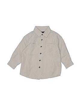 Claiborne Long Sleeve Button-Down Shirt Size 2T