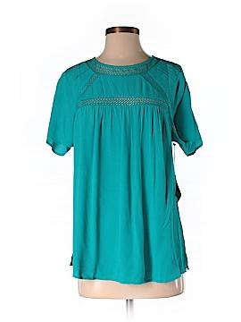 Meadow Rue Short Sleeve Blouse Size S