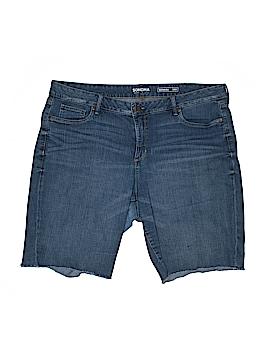 SONOMA life + style Denim Shorts Size 18W (Plus)