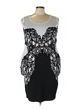 Lane Bryant Casual Dress Size 24 (Plus)