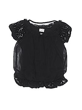 D-Signed Short Sleeve Blouse Size 6
