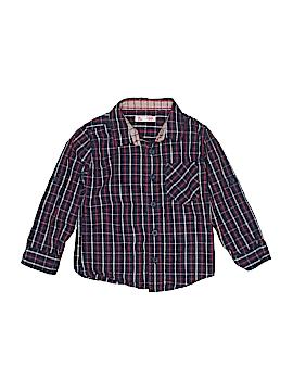 DPAM Long Sleeve Button-Down Shirt Size 3