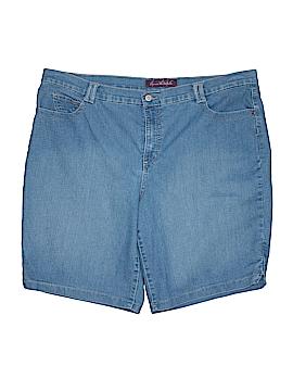 Gloria Vanderbilt Denim Shorts Size 20w (Plus)