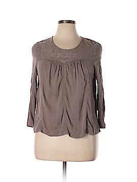 Hinge Long Sleeve Blouse Size 1