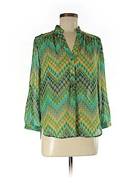 Tacera 3/4 Sleeve Blouse Size S
