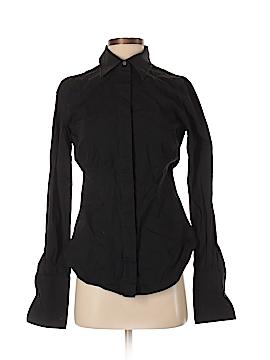 Moda International Long Sleeve Button-Down Shirt Size S