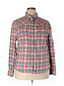 Jach's Girlfriend Long Sleeve Button-Down Shirt Size XXL