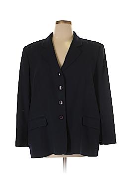 Rena Rowan Wool Blazer Size 22 (Plus)