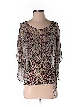 Tiny Short Sleeve Silk Top Size XS