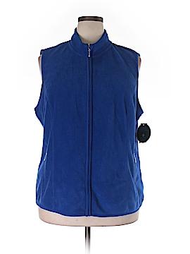 Karen Scott Sport Fleece Size 0X (Plus)