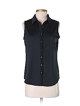 Tail Sleeveless Button-Down Shirt Size XS