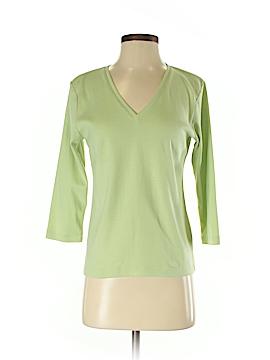So Blue Sigrid Olsen 3/4 Sleeve T-Shirt Size S
