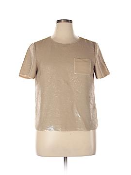 Lafayette 148 New York Silk Pullover Sweater Size 14