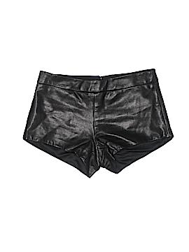 Mason Faux Leather Shorts Size 0
