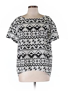 Whitney Eve Short Sleeve Blouse Size M