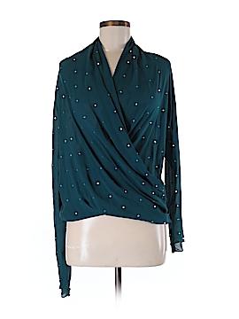 Foley + Corinna Long Sleeve Silk Top Size M