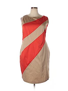 Evan Picone Casual Dress Size 22 (Plus)
