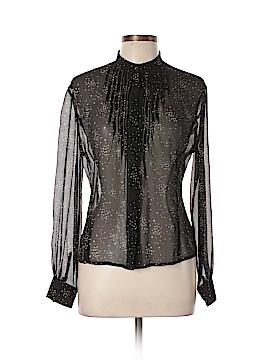 Anne Klein Long Sleeve Blouse Size 10 (Petite)