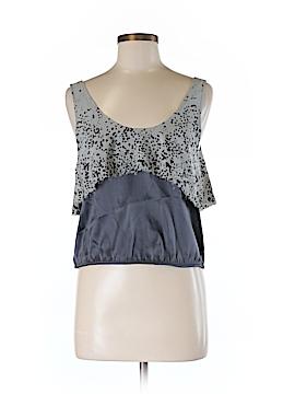 Geren Ford Sleeveless Silk Top Size M