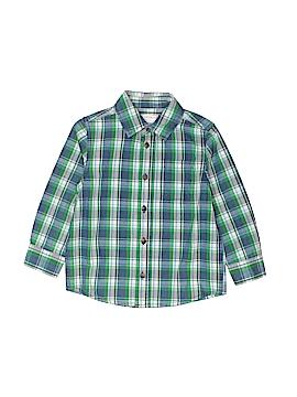 Joe Fresh Short Sleeve Button-Down Shirt Size 3
