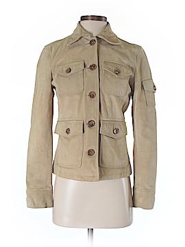 J. Crew Leather Jacket Size XS