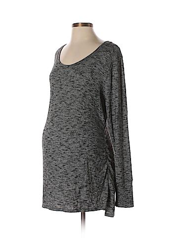 Liz Lange Maternity Long Sleeve Top Size L (Maternity)